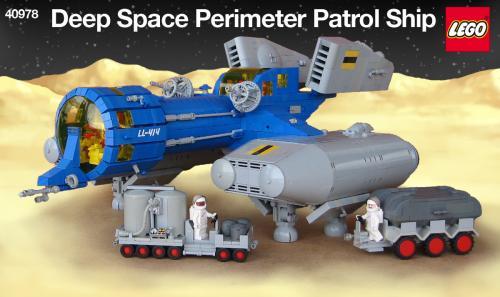 LL-414 Deep Space Perimeter Patrol Ship