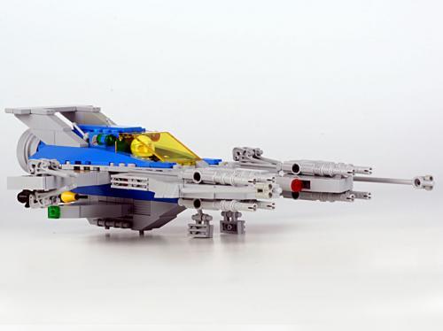 Solar Enforcer 10 Landing Gear Down