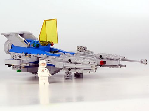 Solar Enforcer 11 Pilot Out