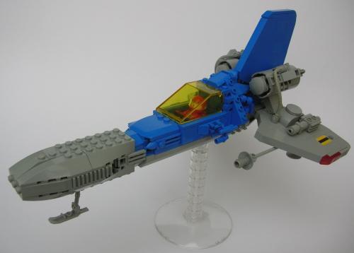 LL-144 Interceptor (landing gear extended)