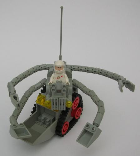 Lunar excavator
