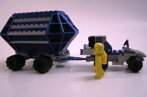 Lunar Utility Vehicle with Trailer