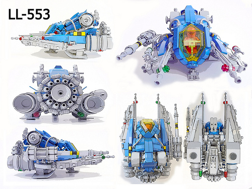 LL-553 Montage