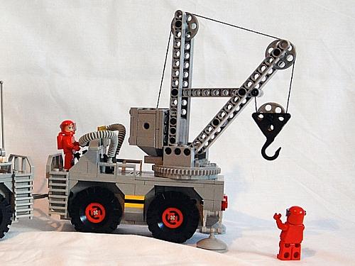 Space Crane (winch end)