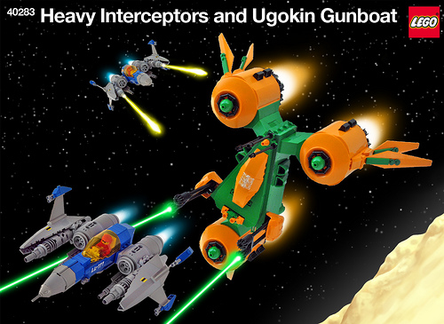 Heavy Interceptor and Ugokin Gunboat