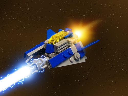 Microscale Interceptor by Monkfish
