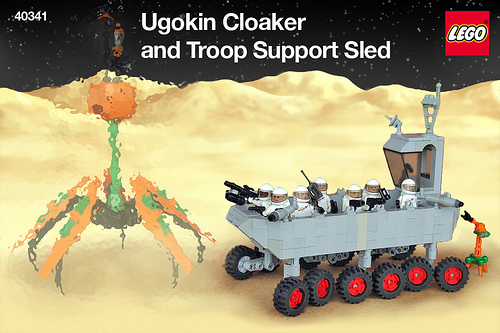 Troop Support Sled box art